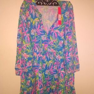 Lilly Pulitzer Sz Large Dress NWT